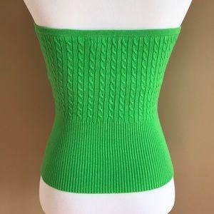 438479ca97 Daisy Fuentes Tops - Kelly Green Tube Top